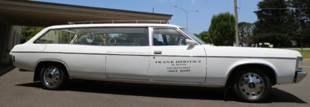 Cropped Ford Hearse
